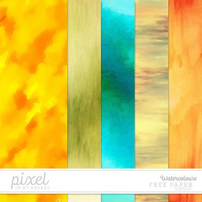 Freebie || Watercolours