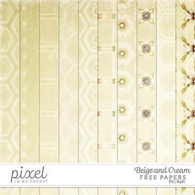 Freebie \\ Paper  \\ Cream